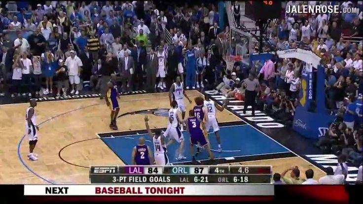 Derek Fisher Game 4 Three Pointers - Lakers vs Magic 2009 NBA Finals - ...