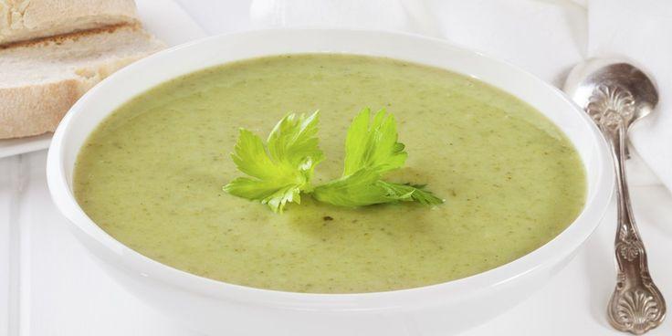 Σούπα σέλινο με κρέμα γάλακτος