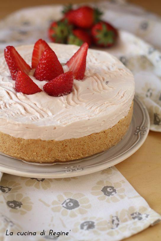 Torta fredda allo yogurt, sapore delicato | La cucina di Reginé ☼
