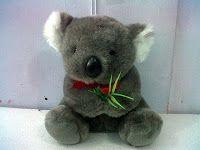 boneka koala binatang lucu