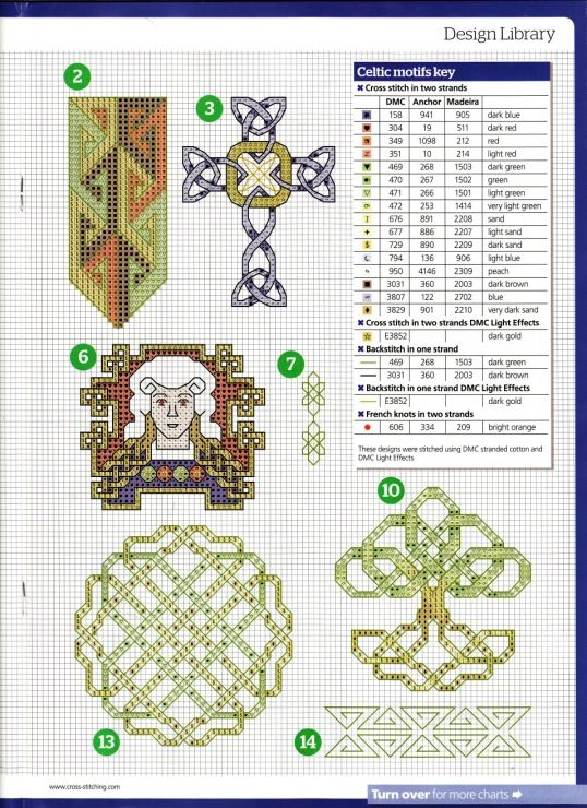 Gallery.ru / Photo # 29 - The world of cross stitching 162 + pril.18 Pretty Floral Chart - tymannost