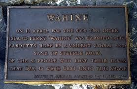 Wahine Disaster Memorial at Eastbourne