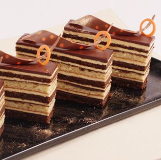 One bite gonna makes you love Opera cake forever..