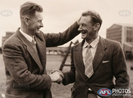 Norm and Len Smith - AFL Photos - Galleries - AFL Photo Galleries