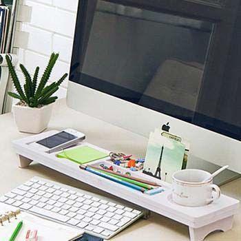 Creative Simple Computer Desk Organizer