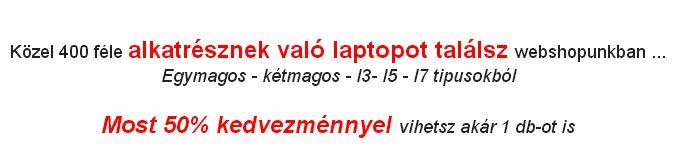 Alkatrésznek való laptopot keresel ? Kupon Akció !!! 400 féle alkatrésznek való #laptop közül válogathatsz !!! -50% !!!!