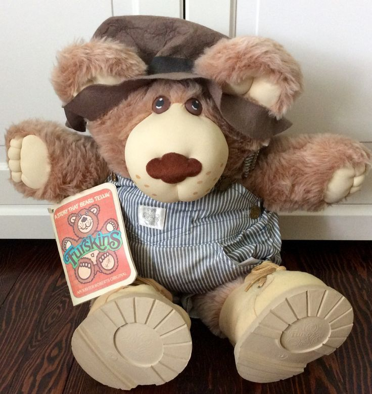 "1985 ""Dudley"" Furskin Bear by Xavier Roberts, CPK Furskins, Furskins, Vintage Furskin Bear, Cabbage Patch Kids Furskin, Dudley Furskin Bear by Lalecreations on Etsy"