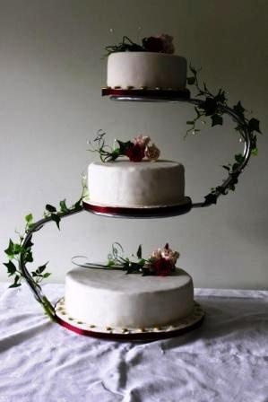 3 Tier S Shaped Cake Stand