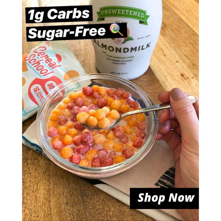 Old School Cereal Made The New Way! Zero Sugar, 1g Total