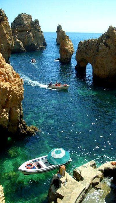 Ponda da Piedade of Lagos, Algarve, Portugal