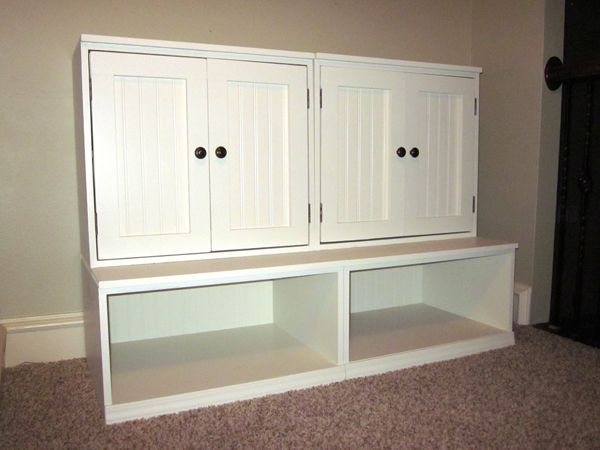 Build a storage set for $130- comparable to Pottery Barn for close to 800!