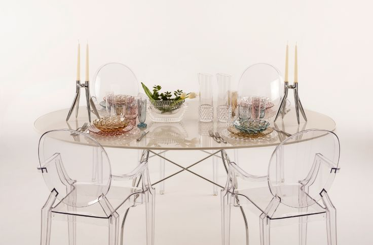 The Jellies Family by Patricia Urquiola for Kartell at Peck for Milano Design Week 2016 #kartellforpeck