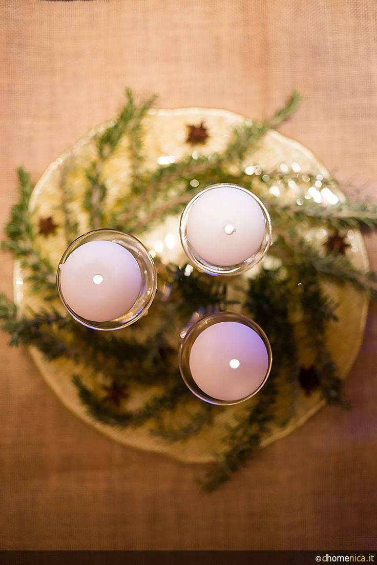 Frutta di stagione, elementi della natura, candele e creatività per originali centrotavola natalizi fai-da-te. http://www.dhomenica.it/index.php/blog-dh/centrotavola-natalizi-faidate