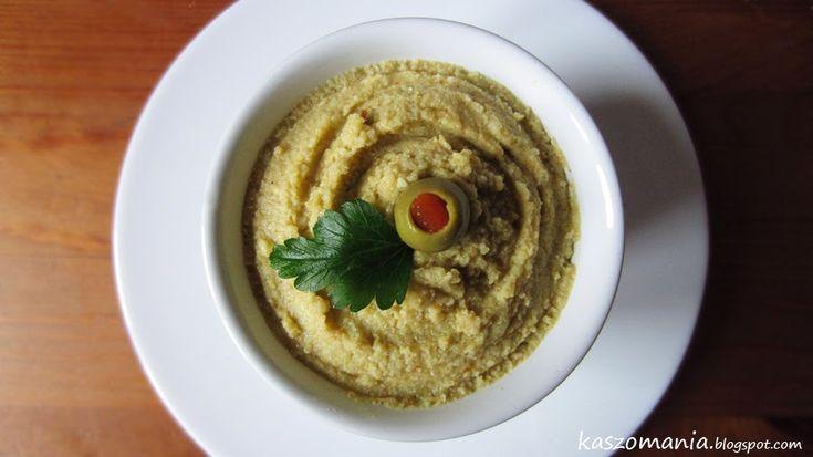 Kaszomania - pomysły na dania z kaszy jaglanej: Pasta kanapkowa z kaszy jaglanej i oliwek