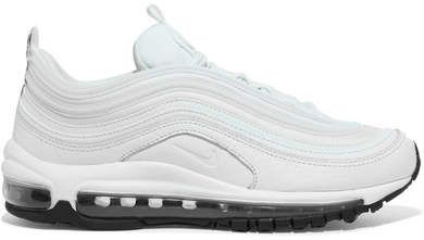 timeless design a3636 0d42b Nike - Air Max 97 Leather And Mesh Sneakers - White.  ad  nike  shoefreak