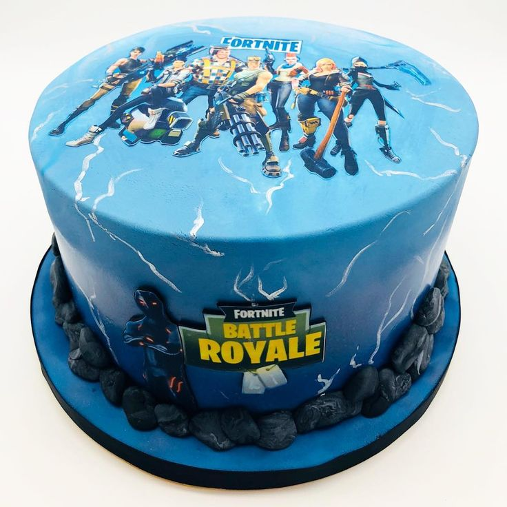 Fortnite Cake For The Fortnite Addict In Your Life