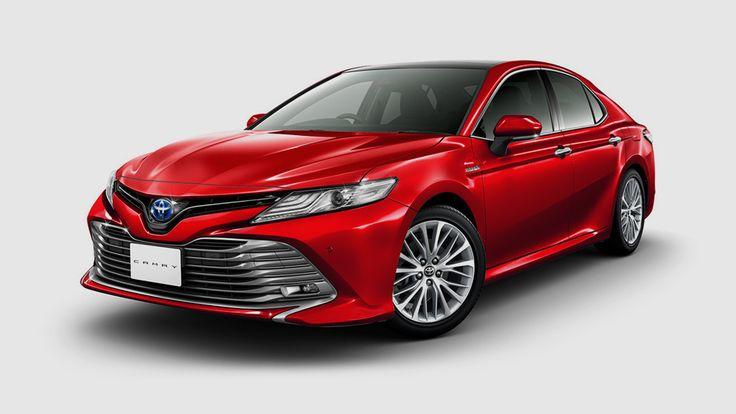 В Японии показали, какой будет Toyota Camry 2018 для украинского рынка