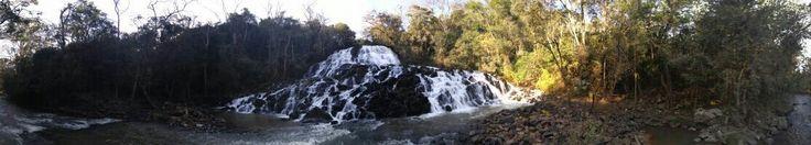 Foto em 360° da cachoeira Chicão 1 Faxinal-Pr