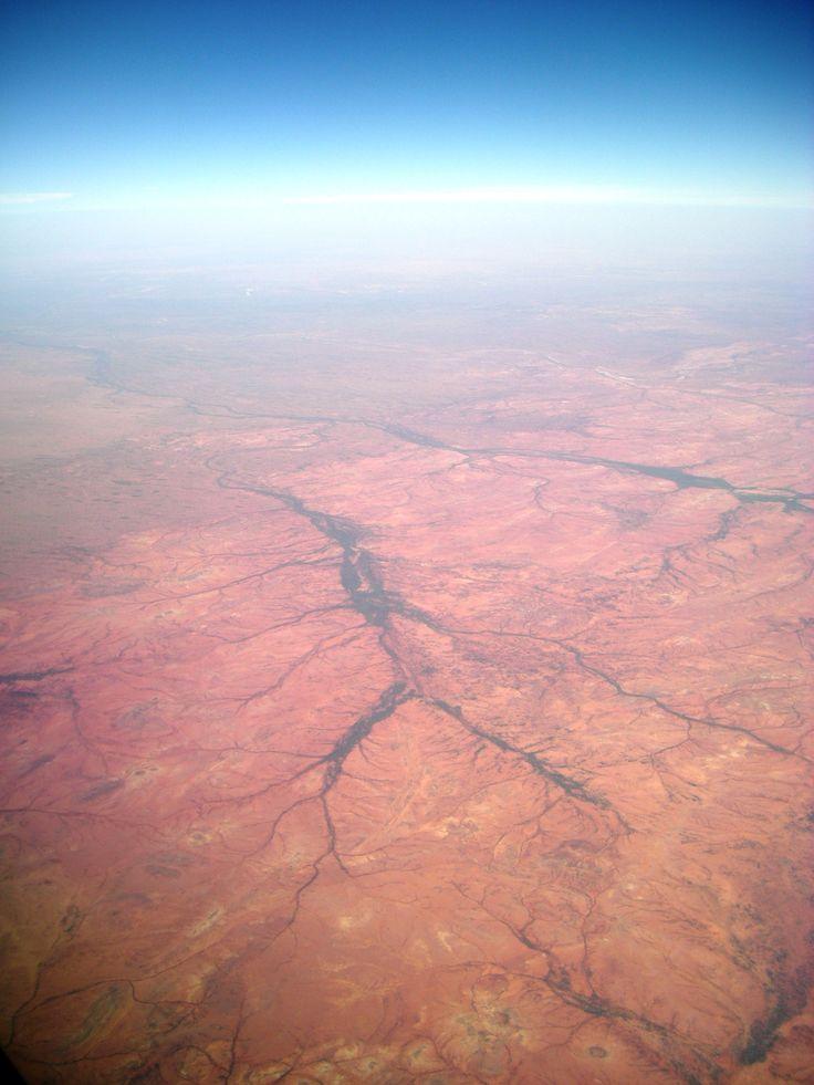 Aerial view, Central Australia