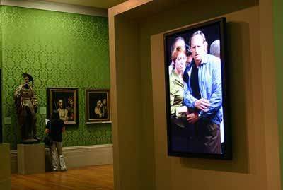 #unfakedialberto reviews Bill Viola exhibition in Rome