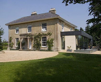 Dream home country house with a contemporary extension Home architecture newbury