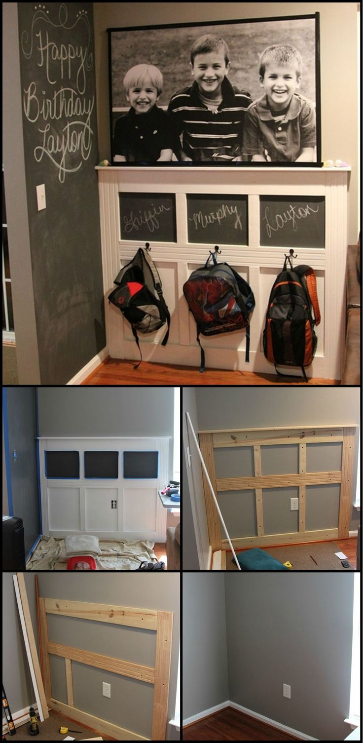 How To Build A Backpack Station Keeping the school stuff together makes the stress of mornings less for everyone in the family. If you're looking for storage system for your kid's backpacks, then this DIY backpack station might interest you!