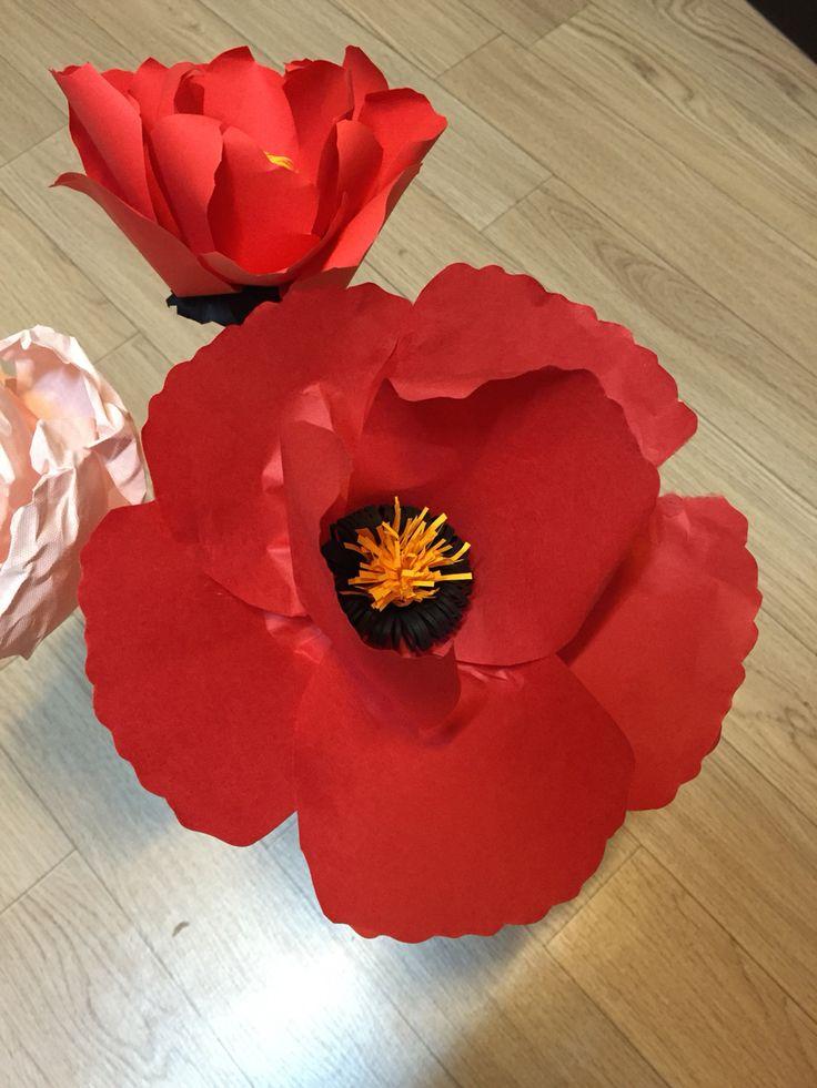 #paper flower#giant flower By hong.1