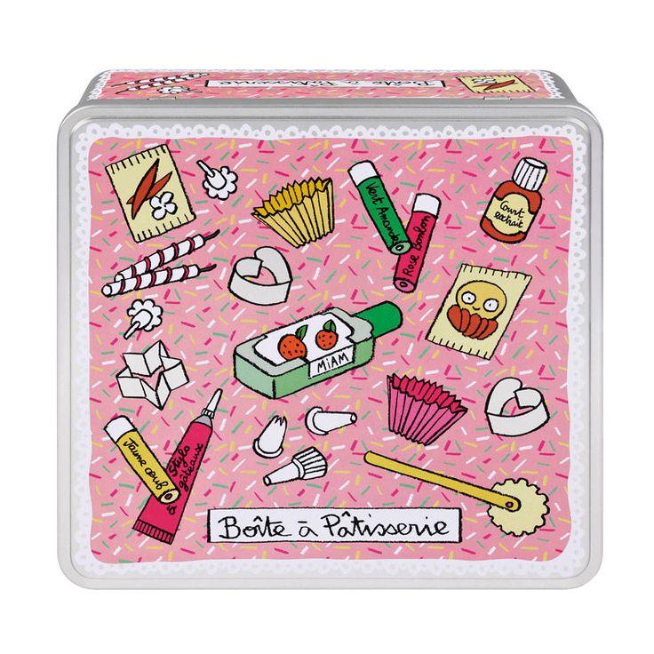 Boite à pâtisserie Derrière la porte http://www.deco-et-saveurs.com/boite/2731-boite-a-factures-derriere-la-porte-3662034000783.html
