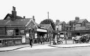 This Photo of Enfield, the Station c1945 is included in the memory Enfield Town Station