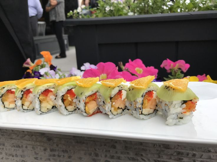 Fruity Bouquet Roll From #Sushi to #noodles and #grilled dishes, everything is prepared in the authentic #Asian tradition of #fresh and #healthy cooking. Order Online: http://www.mixitrestaurant.com