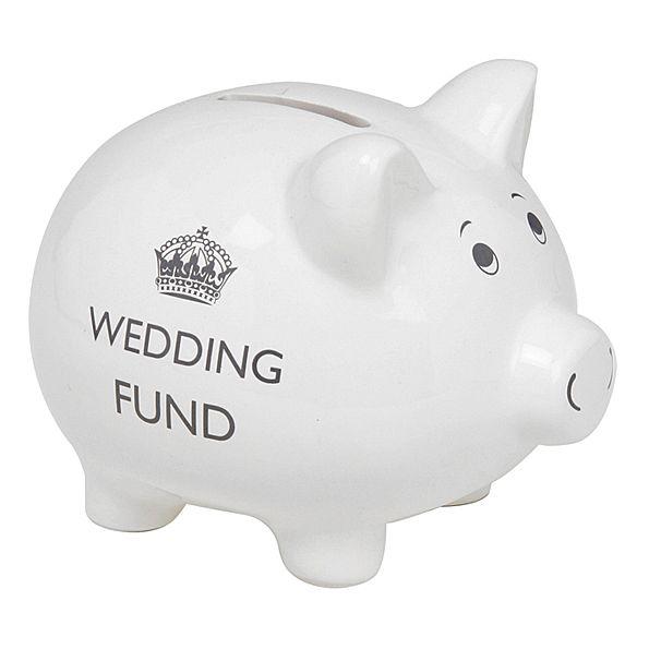 Keep Calm Wedding Fund Money Box / Piggy Bank - The Pink Monkey Company Ltd £9.99