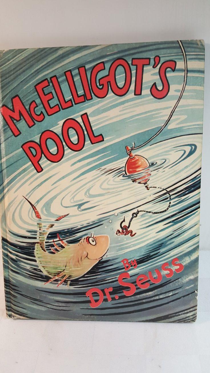 DR. SEUSS McElligot's Pool book 1947 book club edition