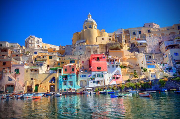 Procida, the smallest island in the Campanian Archipelago,