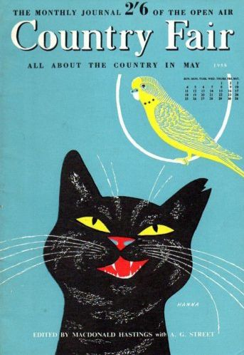 vintage everyday: Vintage Country Fair Magazine Covers