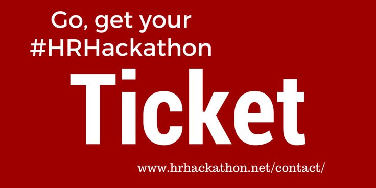 Be quick! The next HR Hackathon in Berlin will take place on April 16th/17th at BASE_camp. In 48 hours we will create new HR Tech.  Come and join us in the inspiring working environment to work hand in hand with software developers on the tools HR will be using tomorrow. Request your HR Hackathon Ticket as Corporate HR professional here (limited stock): http://evazils.com/HRHcontact http://www.hrhackathon.net/contact/