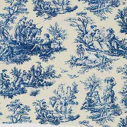 Quot Toile De Jouy Quot Or Quot Toile Quot Is A Decorating Pattern