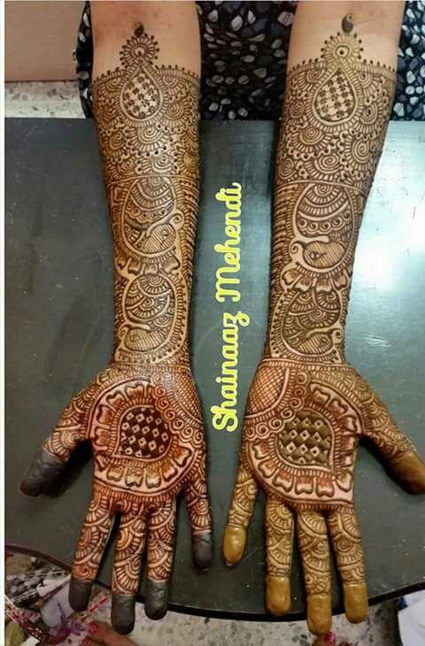 Bridal mehndi by shainaaz