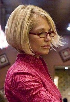 Ellen Barkin hair cut