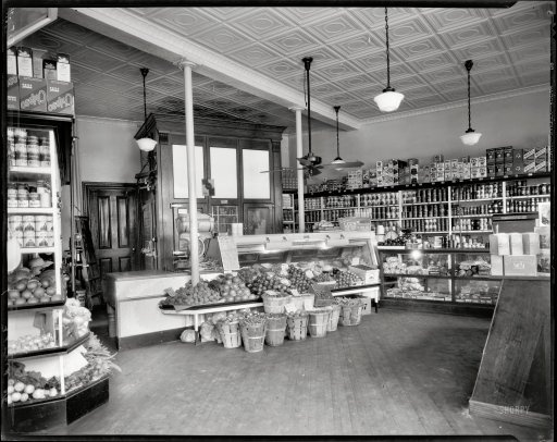 D C Grocery Store 1935 I Don T Know Why I M Fascinated
