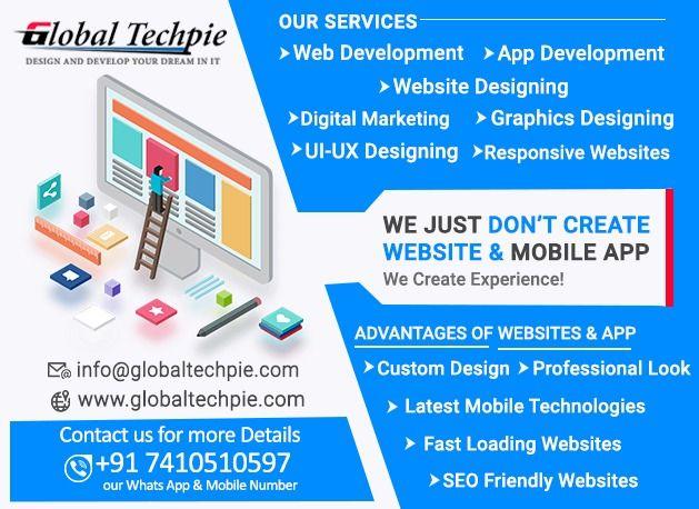 Website Development Company In Pune Globaltechpie In 2020 Web Development Design Game Development Company Marketing Graphics