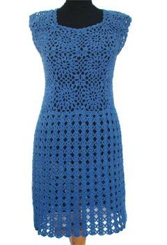 szydełkowe sukienki, tuniki i spódnice