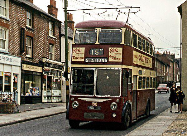 Reading Corporation Transport,1961 Sunbeam/Burlingham
