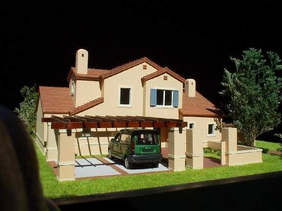 Maqueta casa en Piedra Roja - Chile - Escala 1:50