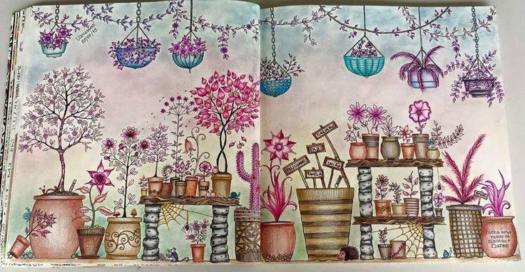 flores jardim secreto:Johanna Jardim Secreto