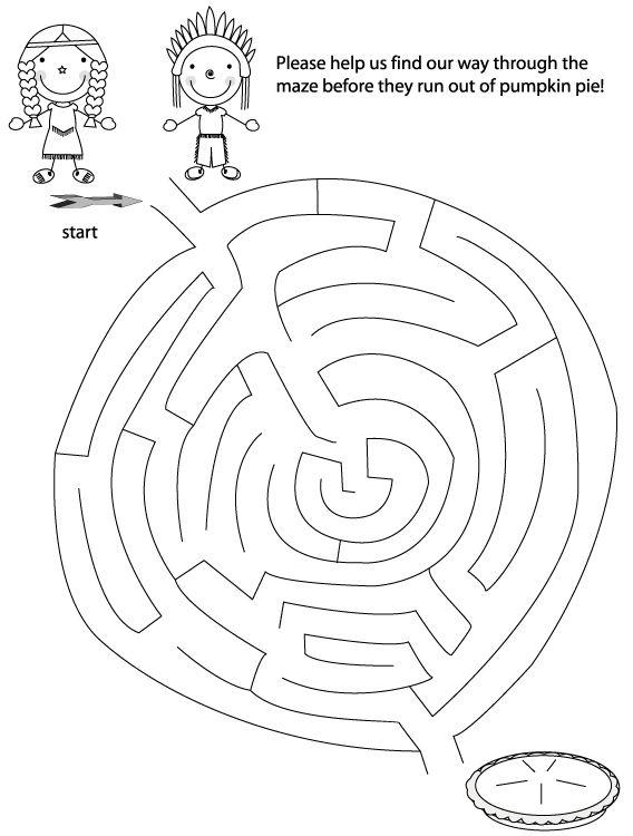 thanksgiving maze printable thanksgiving mazes thanksgiving activities thanksgiving games
