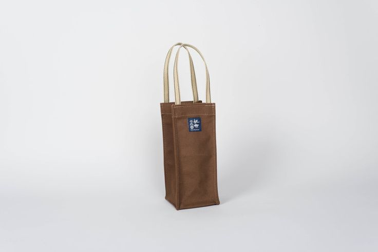 Canvas Wine Carrier Bag #nativeandco