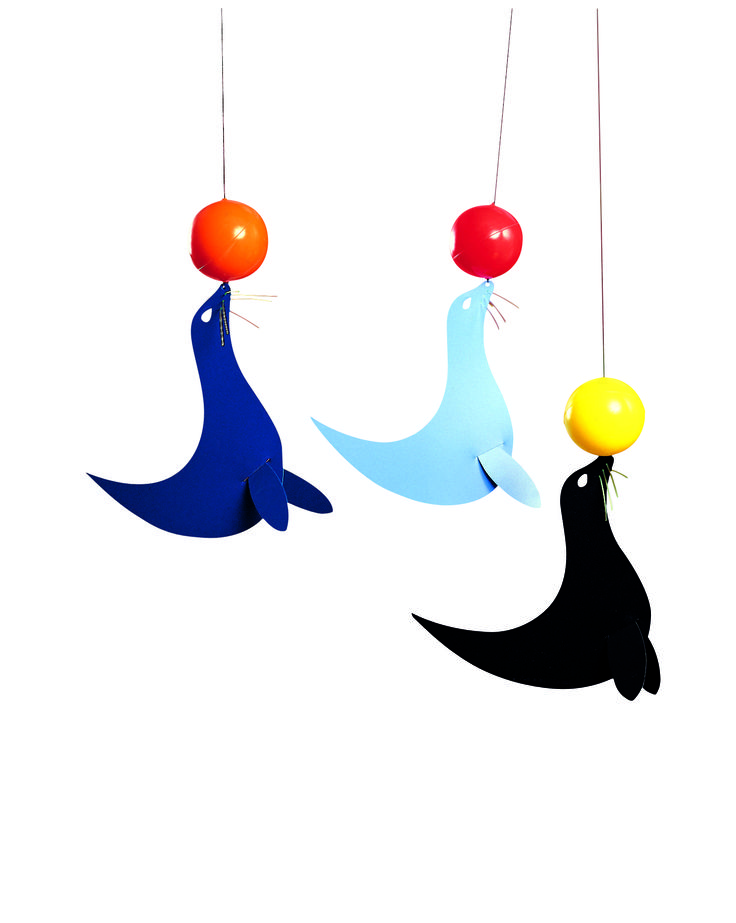The Three Happy Sea Lions by Flensted Mobiles