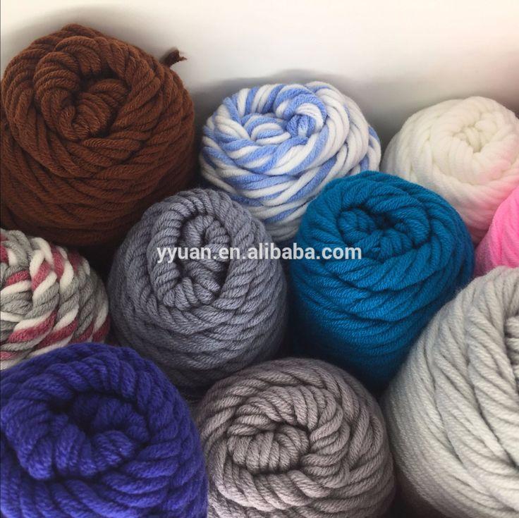 zhangjiagang factory 100 rylic classic hand knitting yarn