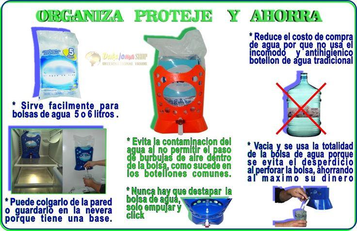 DISPENSADOR PARA BOLSA DE AGUA 6 LITROS VALOR $ 44.990 -CONTACTO : CEL y WATSAPP 3006392167-  Bogota D.C • Sirve agua de las bolsas de 6 litros fácilmente. • Evita la contaminación del agua  • Vacía la totalidad del agua contenida en la bolsa. • Se puede fácilmente colgar en la pared d . • Valvula importada con todos las certificaciones para contacto con alimentos •. . VALOR $ 39.990 ENVIO GRATIS A TODA COLOMBIA - PAGOS POR PSE - O TARJETAS DE CREDITO - EN EFECTIVO POR VIA BALOTO
