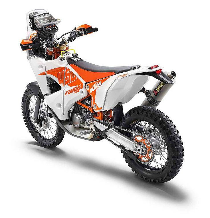 KTM´S RALLY REPLICA BIKE - It's been just over a month since KTM took an outstanding 1-2 finish in the notorious Dakar rally and the Austrian manufacturer is excited to announce that the all-new KTM 450 Rally Replica machine will be available very soon for customers to purchase.
